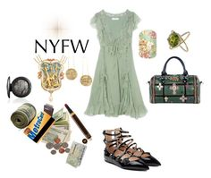"""""""New York Fashion Week"""" by michelle858 ❤ liked on Polyvore featuring MAC Cosmetics, Christian Dior and Fendi"""