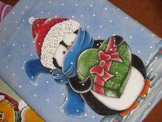 Pintura em tecido / Pano de copa. | Flickr - Photo Sharing!