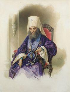 В.Гау   митрополит Филарет