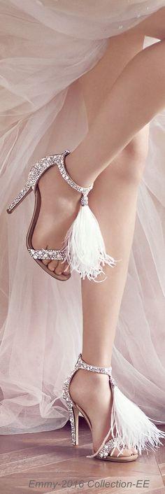 Jimmy Choo's Bridal Collection Gelin ayakkabısı modeli