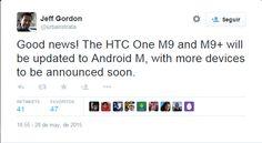 nice HTC confirma que los One M9 y M9 + Uno obtendrán Android M