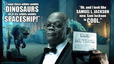 Samuel L. Jackson as the 10th Doctor. #DoctorWho