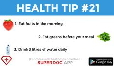 """ Eat fruits 