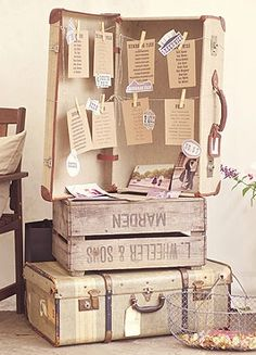 Forget-me-not -- Vintage wedding ideas