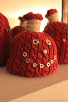 pumpkin sweater crafts - Bing Images  ~I think I'd make the mouth out of felt...but, cute anyway.