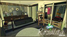 Pandashtproductions: Rosalita house • Sims 4 Downloads