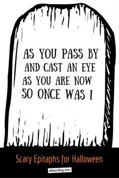 50 tombstone sayings for your halloween yard haunt - Funny Halloween Tombstones