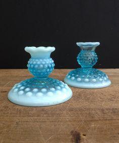 Vintage pair of candle holders. by vintagelinensplus on Etsy
