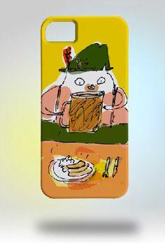 Oktoberfest Cat iPhone case from JamieShelman on Etsy