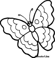 butterfly coloring pages 002 coloring sheets pinterest