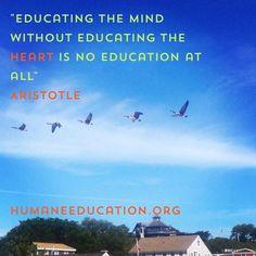 #HumaneEd www.humaneeducation.org