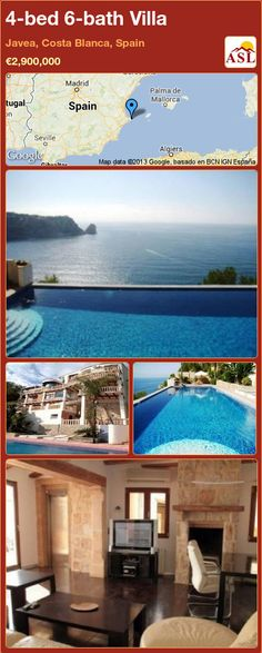4-bed 6-bath Villa in Javea, Costa Blanca, Spain ►€2,900,000 #PropertyForSaleInSpain