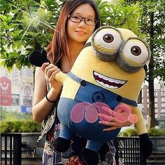 Despicable Me 2 Movie Minions 24'' plush toy Doll Giant Stuffed Animal 60CM Big