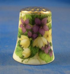 Gold Top Thimble Spring Flowers | eBay