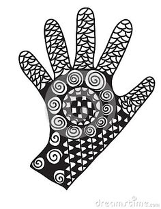 Vector illustration of a hand