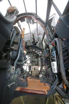 Ju 88 cockpit