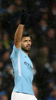 City 3 v West Bromwich 0 Aguero's and City go 15 points clear in the Premier League Sergio Sergio Sergio Aguero, Zen, Kun Aguero, West Bromwich, Manchester City, Football Players, Premier League, Adidas Jacket, Sports