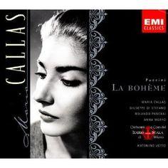 Puccini: La Boheme (complete opera) with Maria Callas, Giuseppe di Stefano, Anna Moffo, Antonino Votto, Chorus & Orchestra of La Scala, Milan