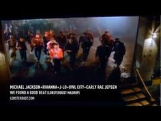 Michael Jackson+ Rihanna + J-Lo+ Owl City & Carly Rae Jepsen - We Found A Good Beat (lobsterdust mashup)