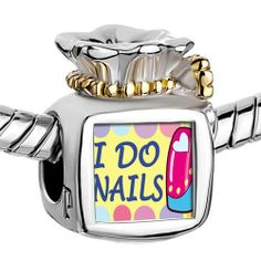 Pugster Two Tone Money Bag I Do Nails Photo Photo Beads Fits Pandora Charm Chamilia Biagi Bracelet Pugster. $14.49. Metal: Two Tone. Color:. Size (mm): 9.46*8.73*12.41. Weight (gram): 5.2