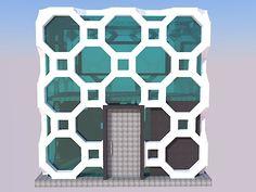 arquitetura fachada geometricos - Pesquisa Google