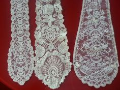 Www.facebook.com / adrilucsl Ribbon lace Andrea, 175 Richelieu and 1402 design with sewing flower. All in ivoire , white and beig colours