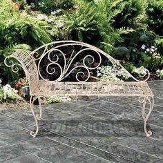 """36"""" Corvalis Bench >> Would be so lovely in my yard!"""