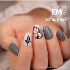 Nail Designs Gallery Idea tag for long acrylic nails or gel how to know which is Nail Designs Gallery. Here is Nail Designs Gallery Idea for you. Nail Designs Gallery tag for long acrylic nails or gel how to know which is. Nail Polish Art, 3d Nail Art, 3d Nails, Cute Nails, Nail Nail, Beautiful Nail Art, Gorgeous Nails, Manicure, Floral Nail Art