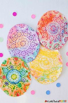 These remarkable doily paper crafts will look great around your home during Easter time. Get the tutorial at A Little Pinch of Perfect.