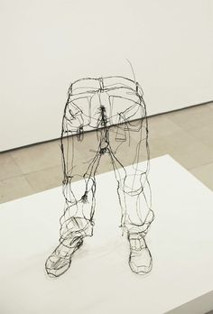 3D Wire Sculptures by David Oliveira