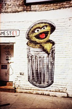 """""""Sesame Street"""" Photography by Giorgio Giussani posters, art prints, canvas prints, greeting cards or gallery prints. Find more Photography art prints and posters in the ARTFLAKES shop. Oscar The Grouch, Nz Art, Jim Henson, Canvas Prints, Art Prints, Amazing Art, Awesome, Art Inspo, Cool Art"""