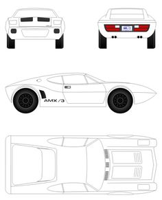 Template for a Transformers Bumblebee 2014 Camaro Pinewood
