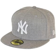 New Era Cap League Basic MLB NY Yankees heathergrey Caps Game f4761830216b