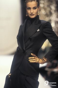 Karen Mulder - Christian Dior, Autumn-Winter 1991, Couture