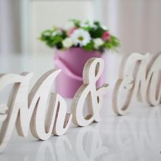 Sweetheart Table Decor Mr and Mrs sign Valentine Day Gift   Etsy Wedding Centerpieces, Wedding Decorations, Table Decorations, Diy Decoration, Table Centerpieces, Wedding Reception Flowers, Wedding Table, Wedding Ideas, Home Renovation