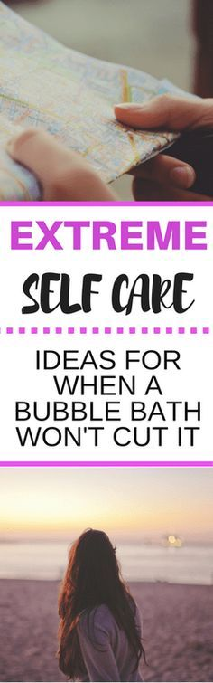 Extreme self care for when you're depressed or anxious. Try these tips when you're really stressed and having a hard time managing your mental health.