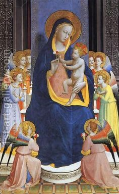 Angelico Fra:Fiesole Altarpiece (detail) 1428