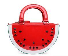 2016 mulheres verão tide moda bonito bolsa frutas saco de melancia dos desenhos animados personalidade criativa engraçado saco de praia em Top sacos alça de Bagagem & Bags no AliExpress.com   Alibaba Group