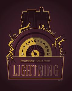 Disney March Magic Tower of Terror  Hollywood Tower Hotel Lightning