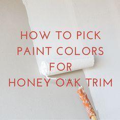 paint colors that go with oak trimPaint Colors That Go With Oak Wood Trim  Wall Color  Pinterest