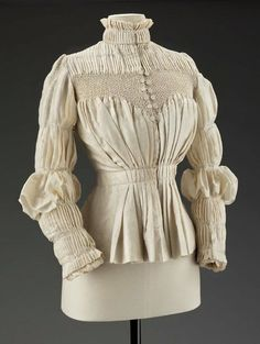 Woman's blouse  English  Liberty & Co., 1890s