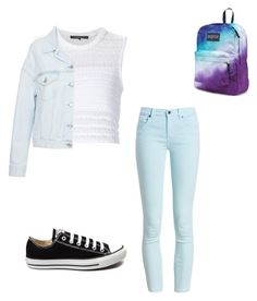"""""""Cute outfit for school """" by jennamaeve3 on Polyvore featuring Barbour, Thakoon, Acne Studios, Converse and JanSport"""