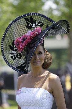 Royal Ascot Ladies Hat...next birthday we should do hats lol