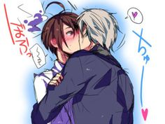 Austria and Prussia kiss