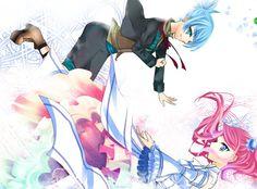 Sora and Yuzu