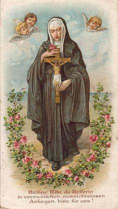 Rita von Cascia by Immaculata Helvetia, via Flickr