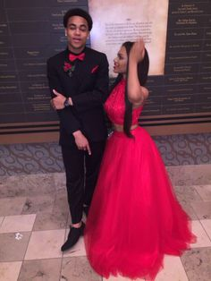 Red and Black Prom