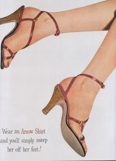 Arrow Shirts advertisement, 1951.