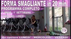 Allenamento HIIT in forma in 5 mesi in 20 Minuti 4° MESE - 1° SETTIMANA 20 Min, Hiit, Wrestling, Shape, Lucha Libre