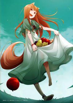 animal_ears ayakura_juu dress feet holo spice_and_wolf tail Spice And Wolf Holo, Wolf Tail, Pagan Gods, Fiction, Anime Nerd, Cute Japanese, Animal Ears, Anime Fantasy, Furry Art